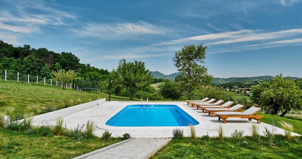 Puhek Breg kuća za odmor s bazenom Zagorje 12