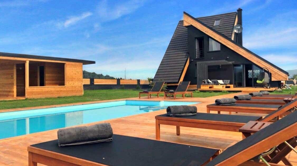 Zoe Luxury House Gorski Kotar kuća za odmor s bazenom
