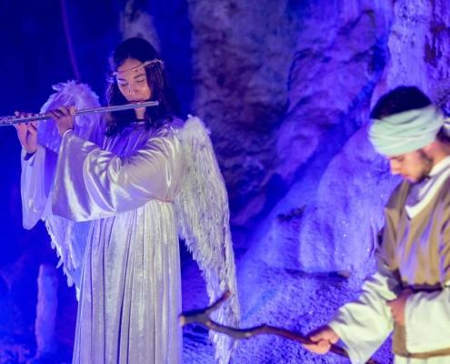 Žive Jaslice u Postojnskoj jami